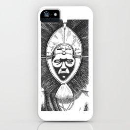 African Headdress iPhone Case