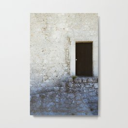 Mysterious Door Metal Print