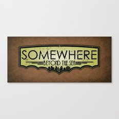 Somewhere Beyond the Sea Canvas Print