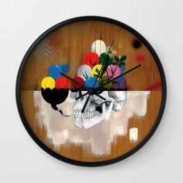 Jelly Full Of Head Wall Clock