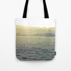 Light in the fields Tote Bag