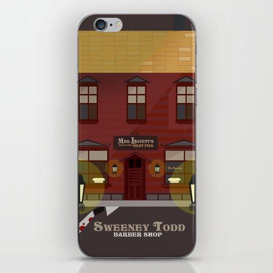 sweeney todd  iPhone & iPod Skin
