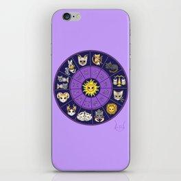 Zodiacat iPhone Skin