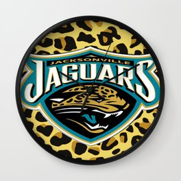 Jacksonville logo Jaguars Wall Clock