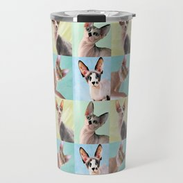 Sphynx Grid Travel Mug