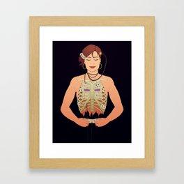 Gam3r Grl Framed Art Print