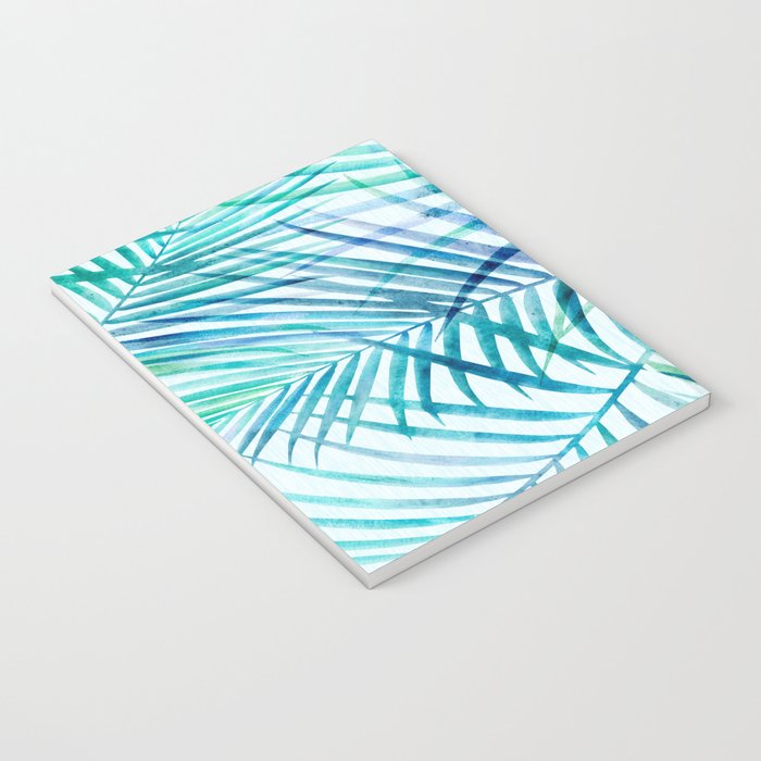 Tropical Palm Pattern Notebook