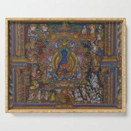 The Medicine Buddha Serving Tray