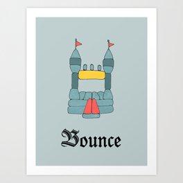 Bounce Art Print