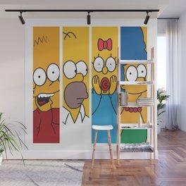 Famous Cartoon Characters No. 1-4 Wall Mural