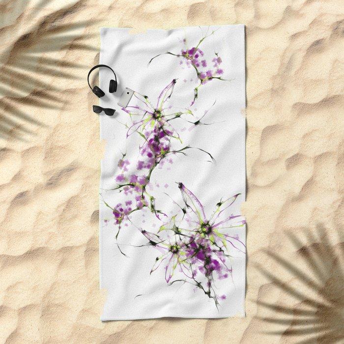 cool sketch 194 Beach Towel