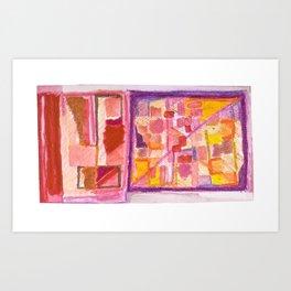 2 Squared Art Print