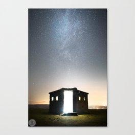 Pillbox Skies Canvas Print