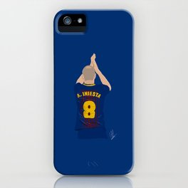 Andres Inresta - FC Barcelona iPhone Case