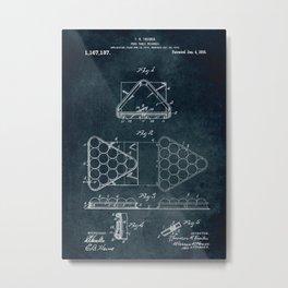 1914 - Pool table triangle Metal Print