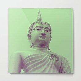 Peace Buddha Metal Print