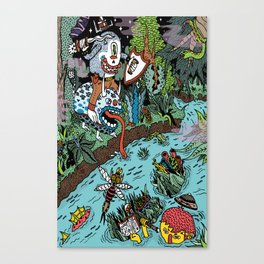 Some of us were born to explore!  Canvas Print