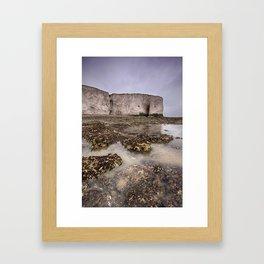 Whiteness Arch Framed Art Print