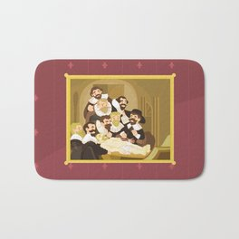 The Anatomy Lesson by Rembrandt Bath Mat