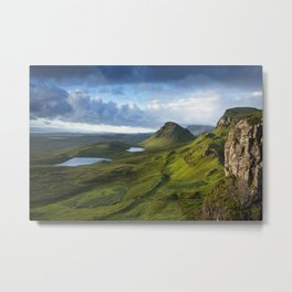 The Trotternish Ridge Metal Print