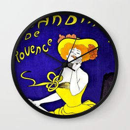Cookies from Provence Wall Clock