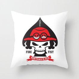 Portgas D. Ace - Fire Fist Throw Pillow
