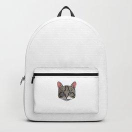 Cat Mom Fur Life Kitty Pun Backpack