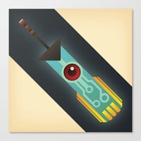 transistor Canvas Prints featuring The Transistor by Liam Ball