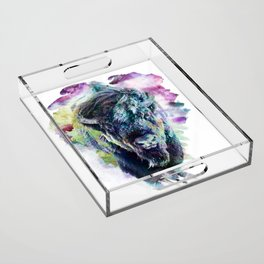 Bison Acrylic Tray