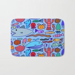Colours Under the Sea Bath Mat
