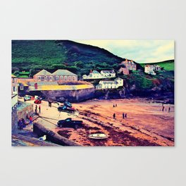 Doc Martin's House at Portwenn Canvas Print