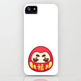 JAPANSTICK DARUMA iPhone Case