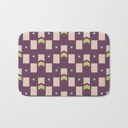 Art Deco Geometric Pattern 273 Bath Mat