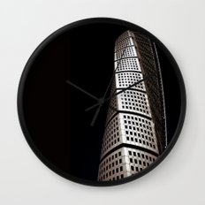 Turning Torso Wall Clock