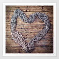 Yarn. Love. Art Print
