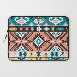 Tribal chic seamless colorful patterns Laptop Sleeve