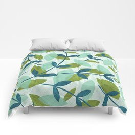 Simple Leaves Comforters