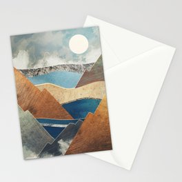 Mountain Pass Stationery Cards