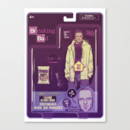 BREAKING BAD ACTION FIGURES - Jesse Canvas Print