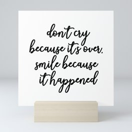 Smile by Seuss Mini Art Print