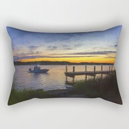 Sunset View in Denbigh Rectangular Pillow