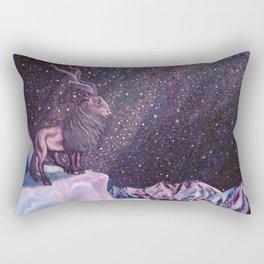 Milky Way Markhor Rectangular Pillow