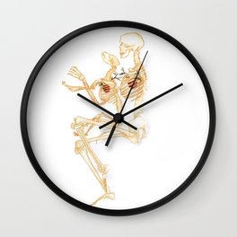 Our Hearts are Forever Entwined Wall Clock