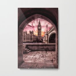 London - Big Ben Metal Print