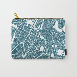 Brussels City Map I Carry-All Pouch