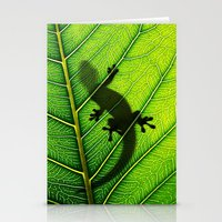 lizard Stationery Cards featuring Lizard by Nicklas Gustafsson