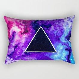 Black Hole Trinity Rectangular Pillow