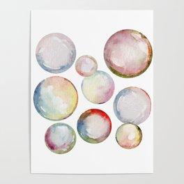 Hello Bubbles Poster