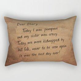 Hill Folk Rectangular Pillow