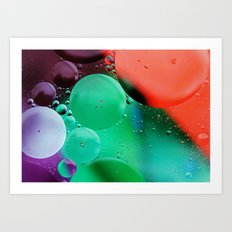 JUST ENJOY THE SHOW Art Print